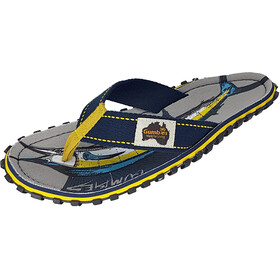 GUMBIES Islander Canvas Thongs sail fish